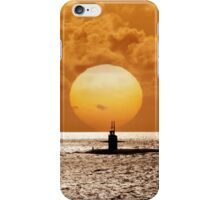 Sunset At Pearl Harbor  iPhone Case/Skin