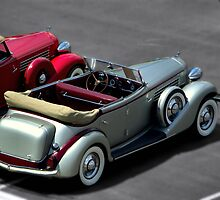 1935s Auburn 851 All-Weather Phaeton & 1935 Auburn 851 Cabriolet by TeeMack