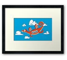 Dragonia Air Framed Print