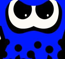 Splatoon Squid Blue Sticker