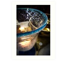 Candle Lamp Art Print