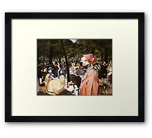 American Staffordshire Terrier Art - Music with Tuileries Framed Print