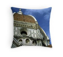 Basilica di Santa Maria del Fiore Throw Pillow