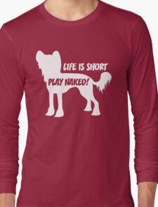 Play Naked! Long Sleeve T-Shirt