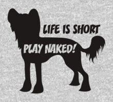Play Naked! in black by xTRIGx