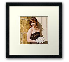 Dorothy's Wedding... a morbid affair #2 Framed Print