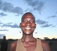 Young Turkana Man, Lake Turkana, Kenya by worldbiking