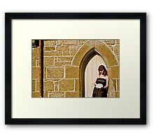 Dorothy's Wedding... a morbid affair #3 Framed Print