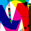 CMYK pattern by Syd Winer