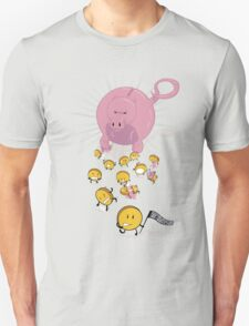 Piggy Bankzilla - Curb Your Coin Compulsion T-Shirt