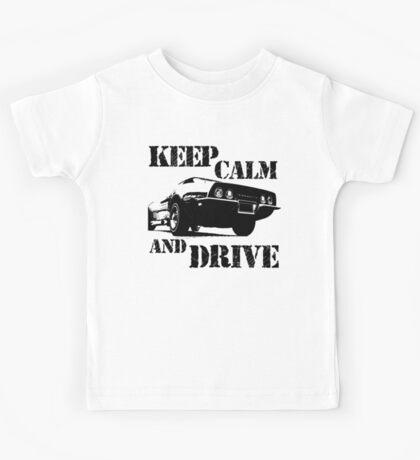keep calm and drive Kids Tee