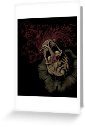 Dark Clown by Brian Allen