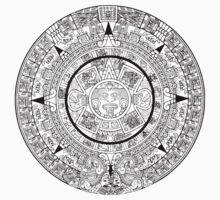 Aztec Calendar by Chillee Wilson Baby Tee