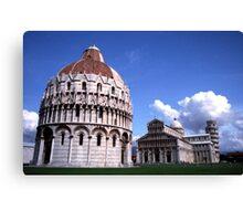 Piazza del Duomo Canvas Print