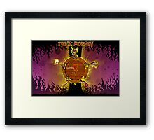 Trick Monkey  Framed Print