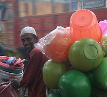 The Plastic Man by worldbiking