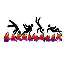 Breakdance Photographic Print