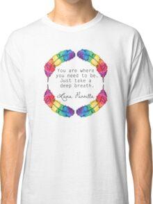 Lana Parrilla Quote (Black text) Classic T-Shirt