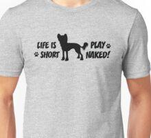 Play Naked! v2 in black Unisex T-Shirt