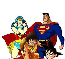 Super heroes by dieguismo