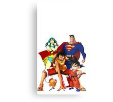 Super heroes Metal Print