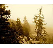 Crag Light Photographic Print