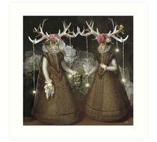 Dark Forest Daydream Art Print