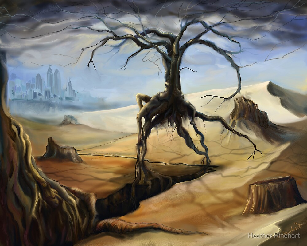 Emerging From a Parched Landscape by Heather Rinehart