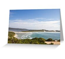 Wilson Inlet Mouth , Denmark WA Greeting Card