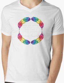 Lana Parrilla Quote (Light text) Mens V-Neck T-Shirt