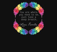 Lana Parrilla Quote (Light text) Unisex T-Shirt