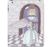 Day of the Dead, Angel, big eyes fantasy art iPad Case/Skin
