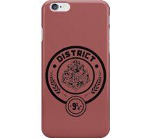 District 9 3/4 - Hunger Games/Harry Potter iPhone Case/Skin