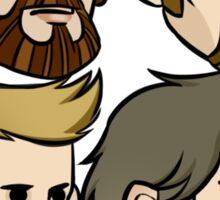 MASTODON cartoon quartet Sticker
