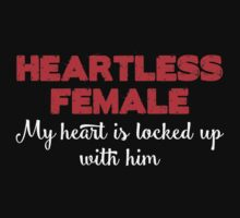 Heartless Female T-shirt by musthavetshirts