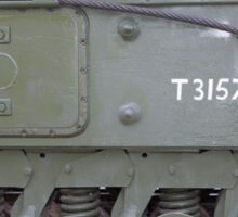 Churchill tank ,The Tank, Infantry, Mk IV (A22) was a British heavy infantry tank Sticker