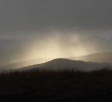 Sunspot on the mountian by shawnmanji