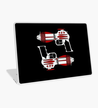 Retro Space Ray Guns by Chillee Wilson Laptop Skin