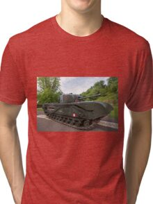 Churchill tank ,The Tank, Infantry, Mk IV (A22) was a British heavy infantry tank Tri-blend T-Shirt