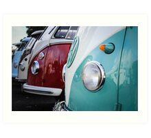 VW Kombi Show Art Print