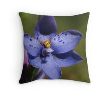 Thelymitra and friend Throw Pillow