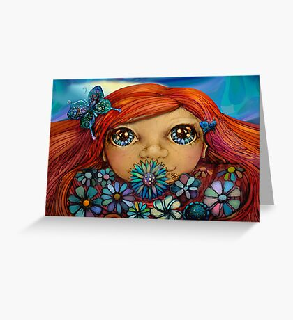 Love is the Flower You've Got to Let Grow Greeting Card