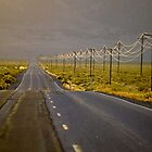 High Desert Highway by Allan  Erickson