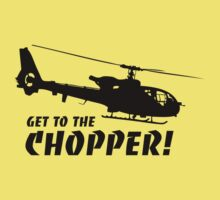 Get to the Chopper Kids Tee