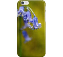 Bluebell Flowers Close Up iPhone Case/Skin