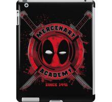 MERCENARY ACADEMY iPad Case/Skin