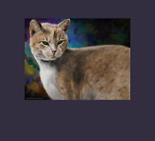 Beautiful Furry and Fluffy Brown Cat Portrait Unisex T-Shirt