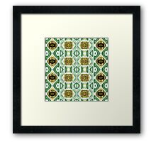 Repeating Patterns No. 13 Framed Print