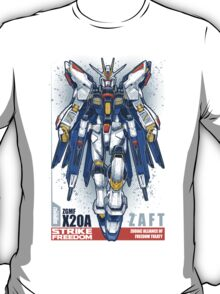 Strike Freedom Gundam T-Shirt