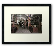 Spice, oils and scents Framed Print